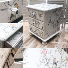 Shabby Chic 'Birdie' Bedside Cabinet(s)
