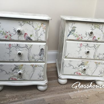 Shabby Chic 'Birdie' Bedside Cabinets