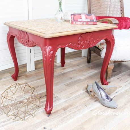 Nolte te Bastardes June Red Feminist Equality Coffee Table