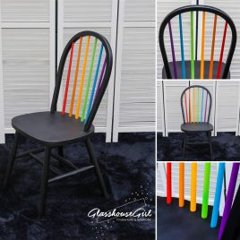 Rainbow Stickback Chair