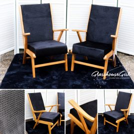 Pair of Original 'Bristow Chanel' Easy Chairs
