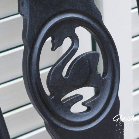 Black Ercol Swan Highback Chairs