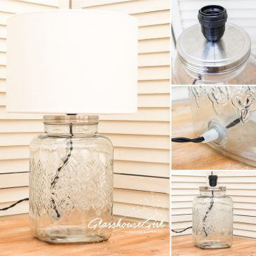 Moroccan Square Drinks Dispenser Lamp