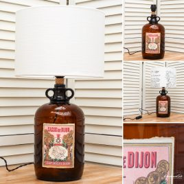 Cassis de Dijon Bottle Lamp