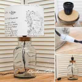 Large Round Jar Lamp