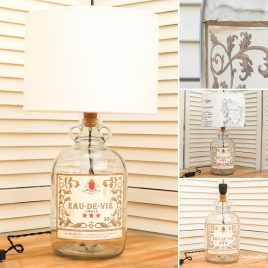Eau de Vie Bottle Lamp