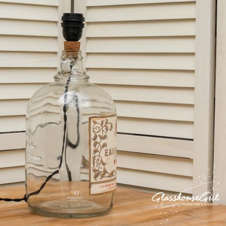 Glasshouse Girl Eau de Vie Bottle Lamp