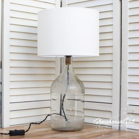 Glasshouse Girl Gingerbread Bottle Lamp