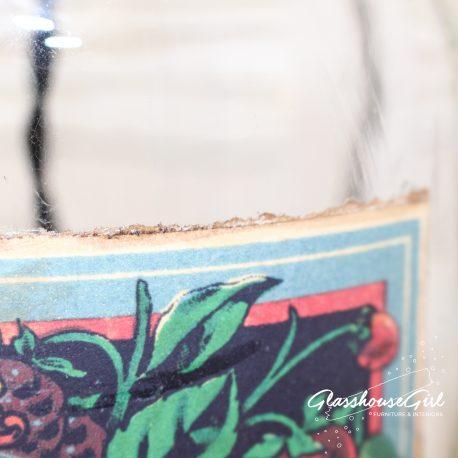 Glassshouse Girl Sirop de Grenadine Bottle Lamp
