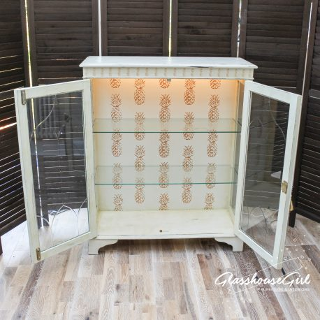 Glasshouse Girl Gold Pineapples Display Case