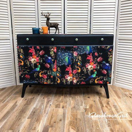 glasshouse-girl-dark-peacock-decoupage-shabby-luxe-sideboard-11