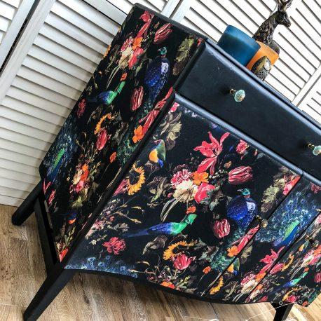 glasshouse-girl-dark-peacock-decoupage-shabby-luxe-sideboard-12