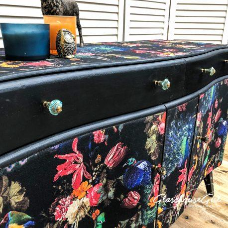 glasshouse-girl-dark-peacock-decoupage-shabby-luxe-sideboard-13