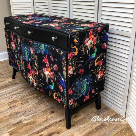 glasshouse-girl-dark-peacock-decoupage-shabby-luxe-sideboard-3