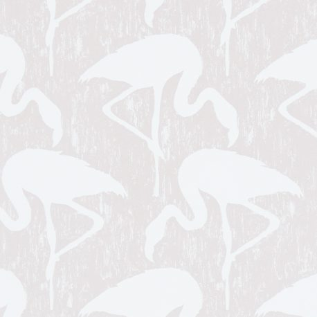 Sanderson Vintage II Flamingos in Blush/Ivory