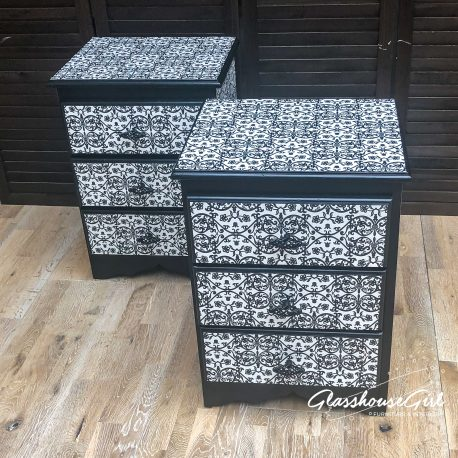 glasshouse-girl-black-white-floral-monochrome-pattern-solid-pine-bedside-cabinets-11