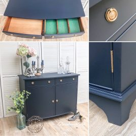 Navy Blue Sideboards