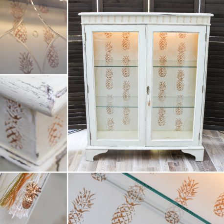 golden-pineapples-glass-display-cabinet-upcycled